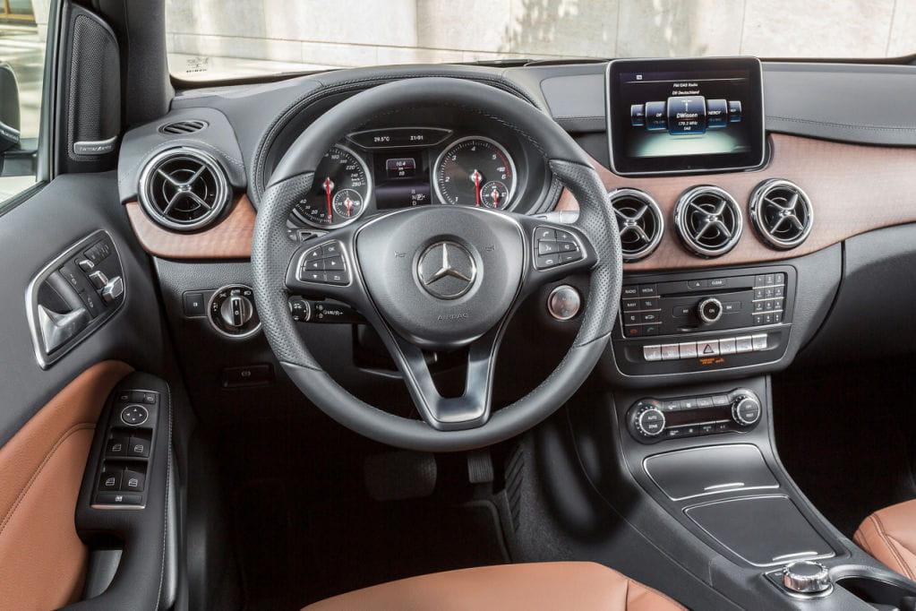 Mercedes Clase B 2015: somera actualización