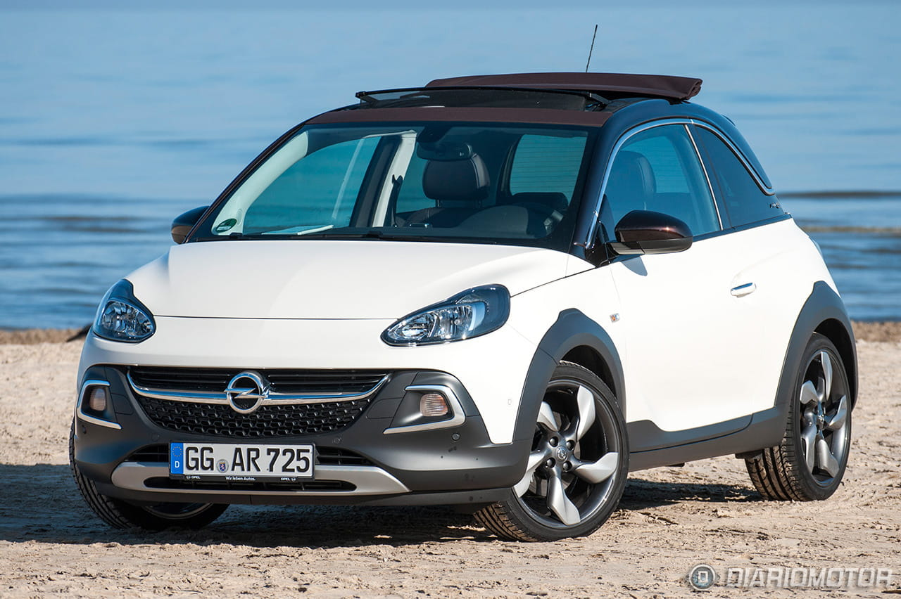 opel adam rocks antes muerto que sencillo es tan diferente de un adam cualquiera diariomotor. Black Bedroom Furniture Sets. Home Design Ideas