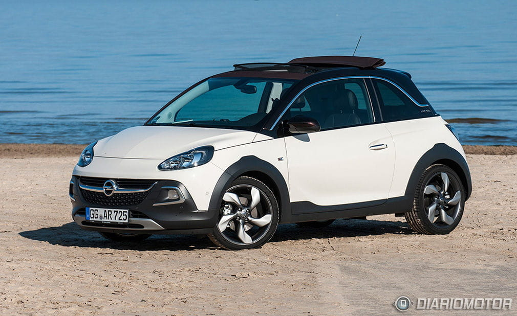 opel adam rocks prueba del 1 0 ecotec de 115 cv diariomotor. Black Bedroom Furniture Sets. Home Design Ideas