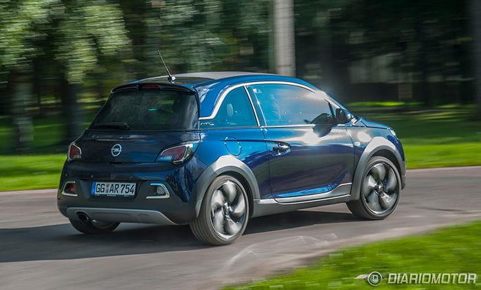 Opel ADAM Rocks a prueba
