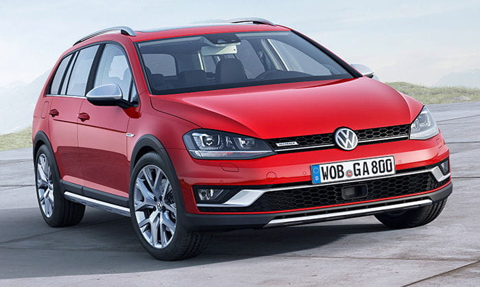 Volkswagen Golf Alltrack 2015