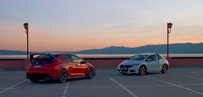 Honda Civic Type R 2015: nuevo adelanto, esta vez en forma de vídeo interactivo