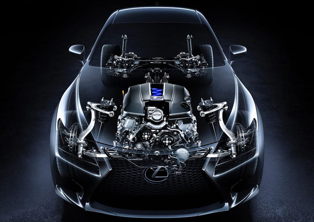 Lexus RC F 2015: 5 razones para amar al rival japonés del BMW M4