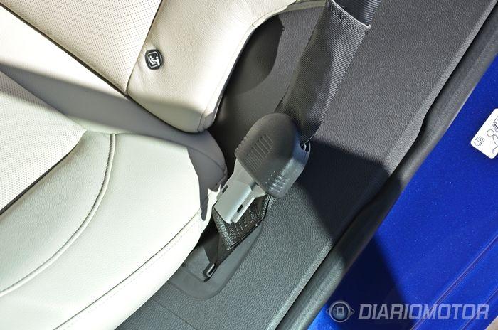 Así funcionan y explotan los cinturones-airbag del nuevo Ford Mondeo (Vídeo)