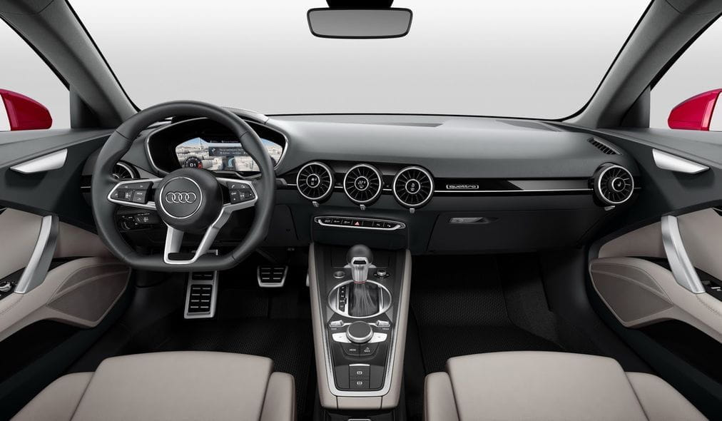 El Audi TT Sportback Concept, el coupé de cuatro puertas soñado