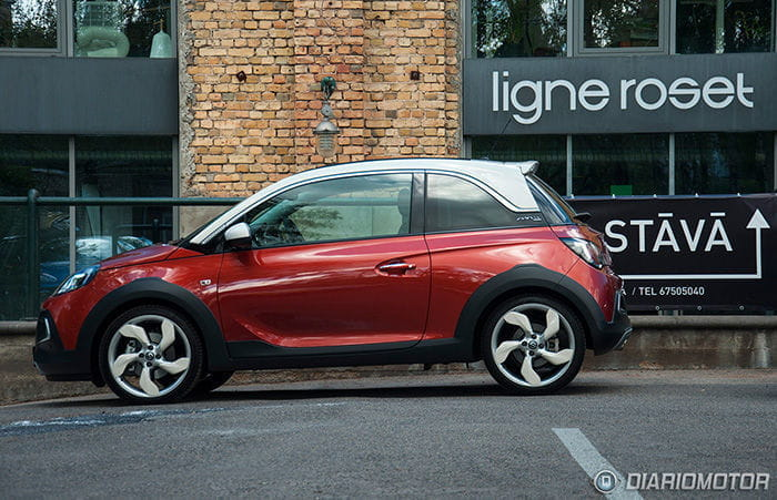 Opel Adam Rocks, gama y precios: en España desde 13.295 euros