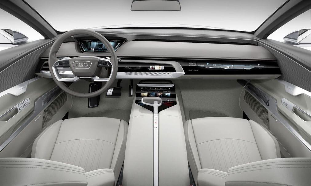 Audi prologue: nueva dirección estilística en forma de coupé de lujo
