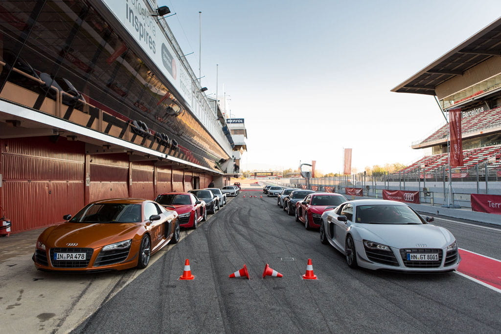 Audi R8 Circuito de Montmeló