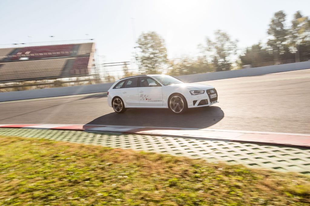 Audi RS4 en Audi Driving Experience