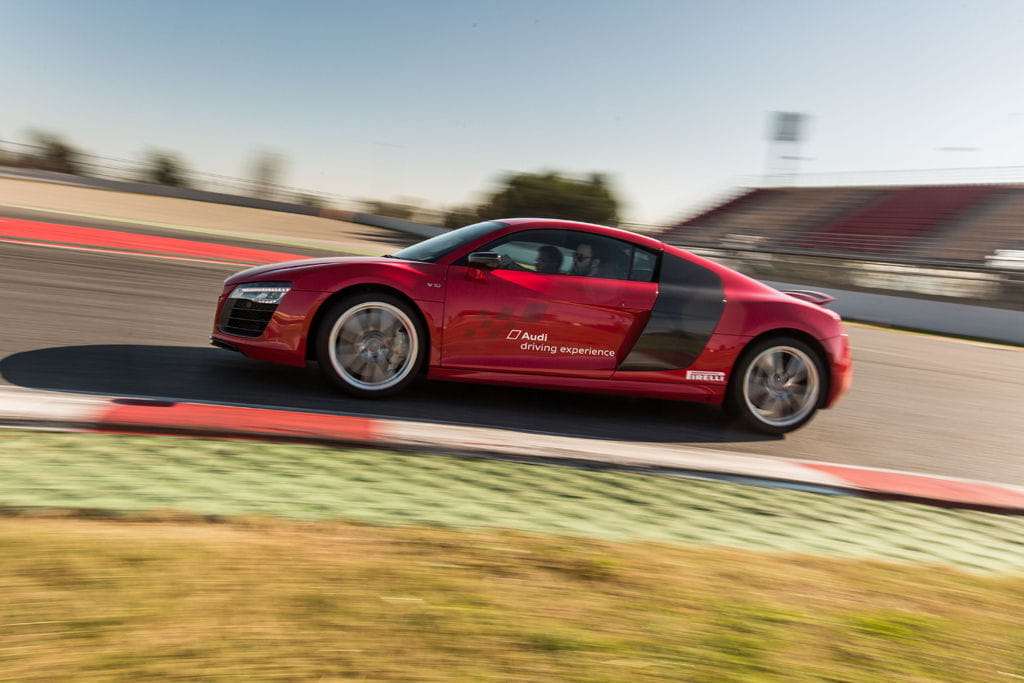 Audi R8 en Audi Sportscars Experience
