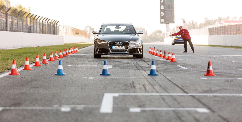 Audi RS6 en Audi Driving Experience