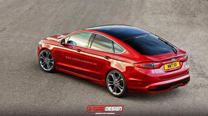 Imaginando una versión ST del nuevo Ford Mondeo