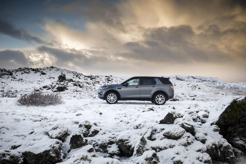 Land Rover Discovery Sport, nueva galería de imágenes desde Islandia