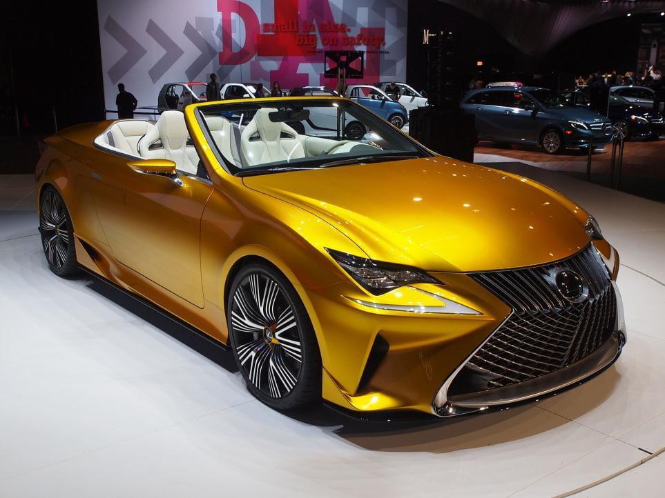 Lexus LF-C2-Concept: imágenes en directo del nuevo descapotable conceptual de Lexus