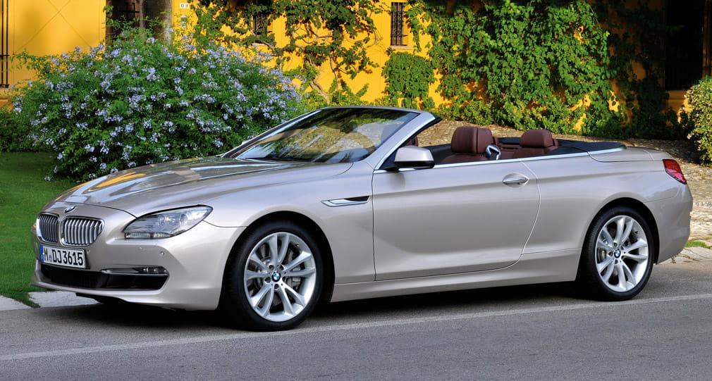 bmw serie 6 cabrio y m6 cabrio precios prueba ficha. Black Bedroom Furniture Sets. Home Design Ideas