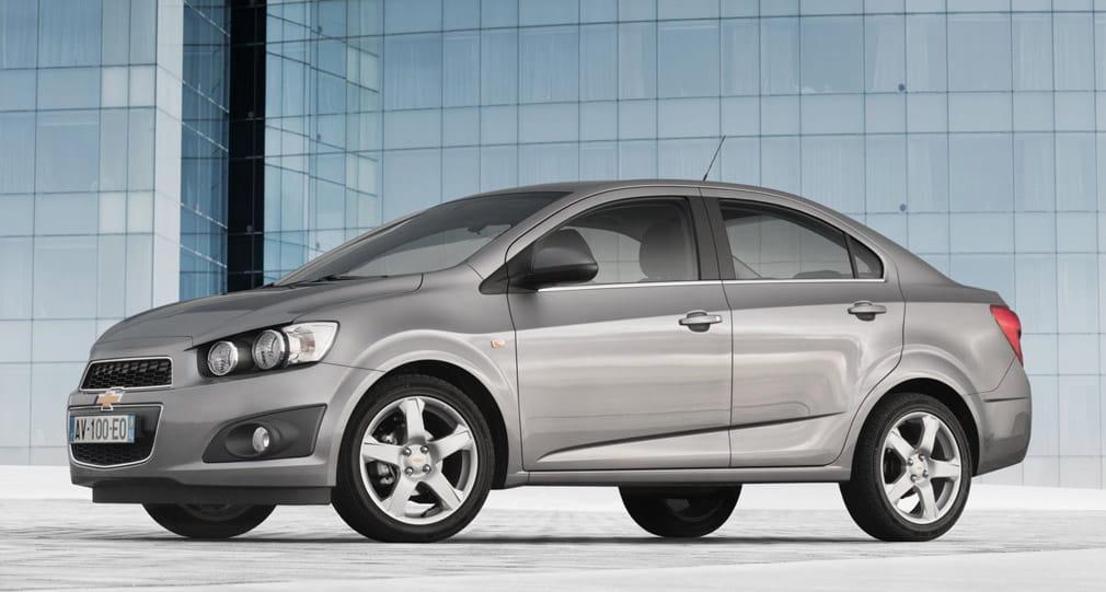 Chevrolet Aveo Sedn Precios Noticias Prueba Ficha Tcnica Y