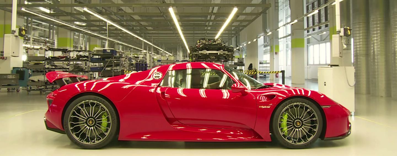 """""""Así se hace"""": 11 minutos en la cadena de montaje del Porsche 918 Spyder"""