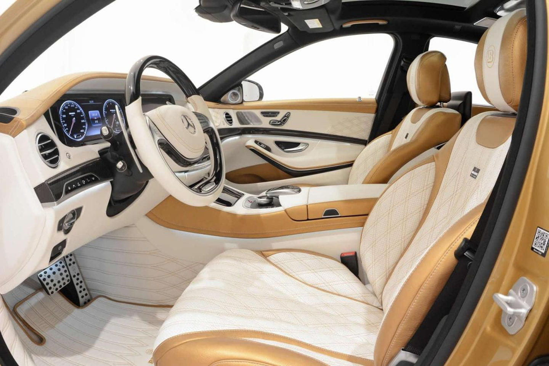 Brabus S63 AMG: una bestia de 1.450 Nm de par