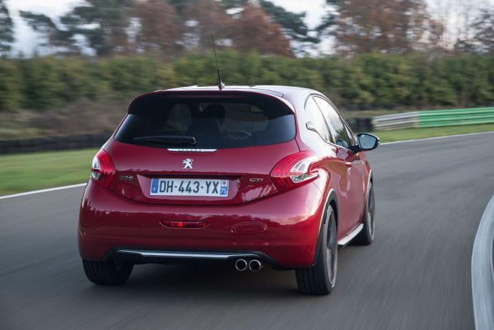 Peugeot 208 GTI 30th, nueva galería de imágenes