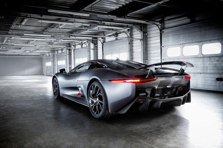 Un Jaguar C-X75 para el malo de la nueva película de James Bond
