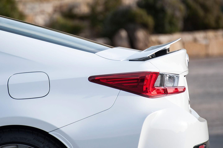 Prueba del Lexus RC F