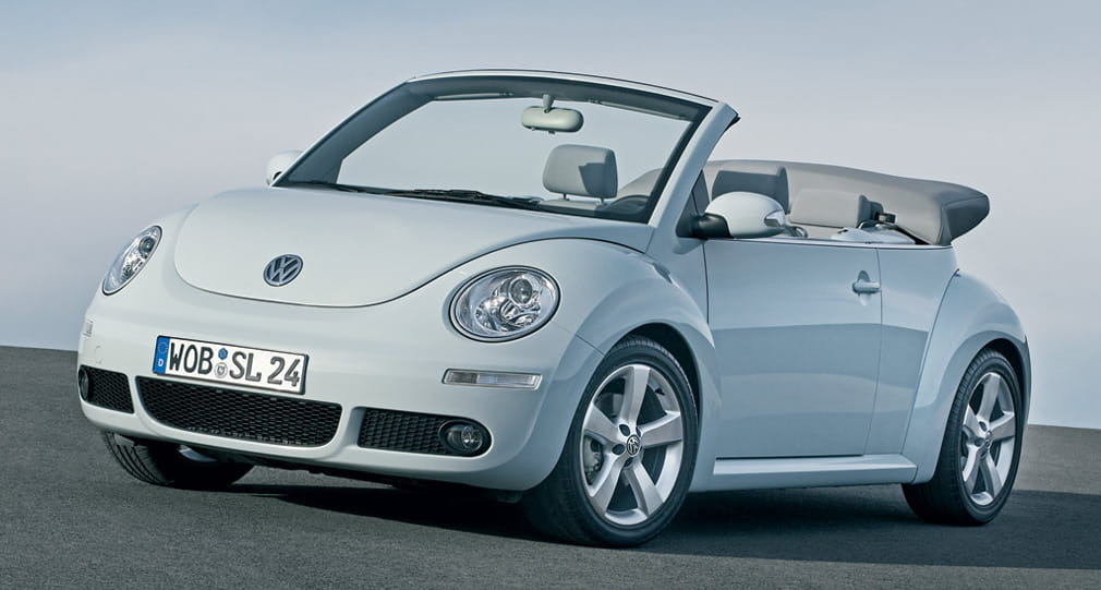 volkswagen new beetle cabrio precios noticias prueba. Black Bedroom Furniture Sets. Home Design Ideas
