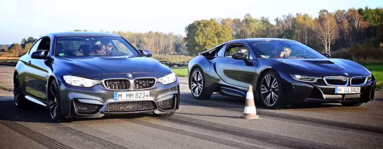 BMW M4 vs i8 en un duelo de aceleración, ¿quién habrá ganado?
