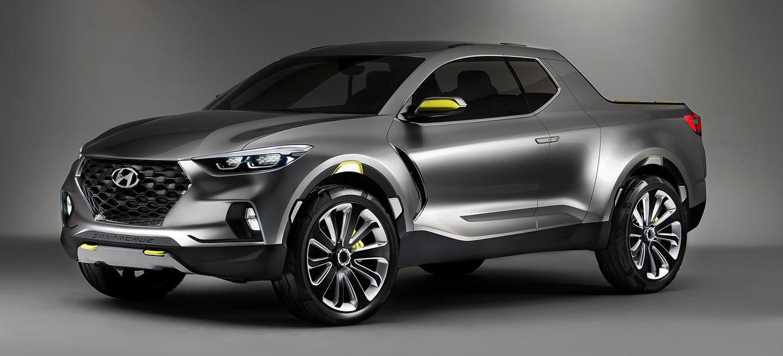 Hyundai Santa Cruz Crossover Truck Concept: un nombre muy largo, para un <em>pick-up</em> más racional