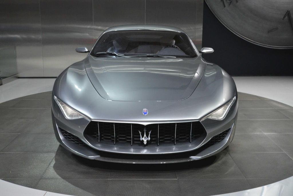 El Maserati Alfieri no se ha querido perder el Salón de Detroit