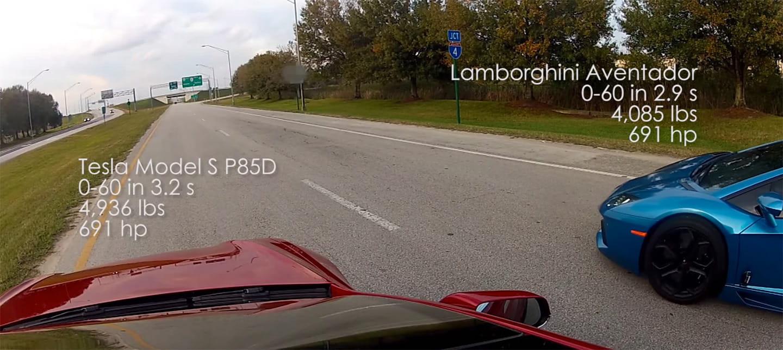 Tesla contra todos: el nuevo Model S ridiculiza (o no) a un Ferrari y un Lamborghini