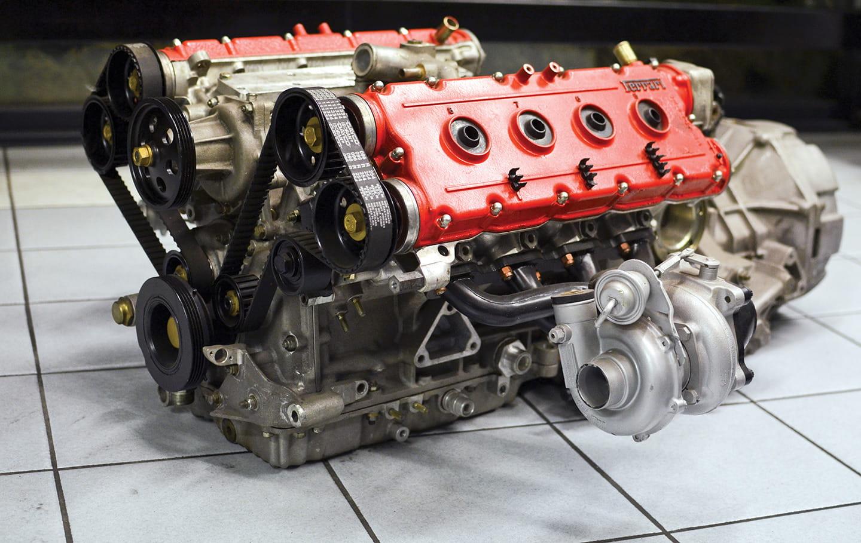 El Verdadero Precursor Del Motor Ferrari Turbo Moderno A