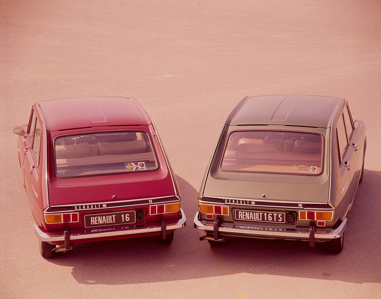 Renault 16, 10 imágenes, 10 curiosidades del turismo francés