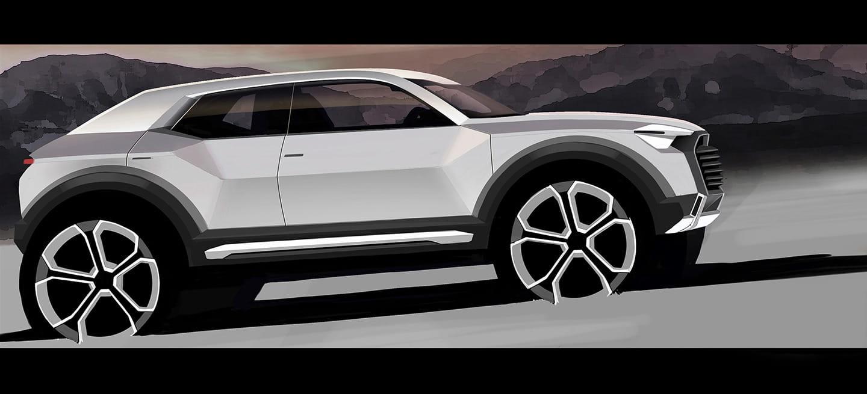 """Audi Q1: el """"Nissan Juke"""" de Audi sigue en marcha, lo veremos en 2016"""