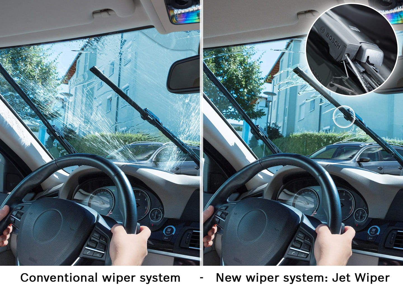 Bosch jet wiper