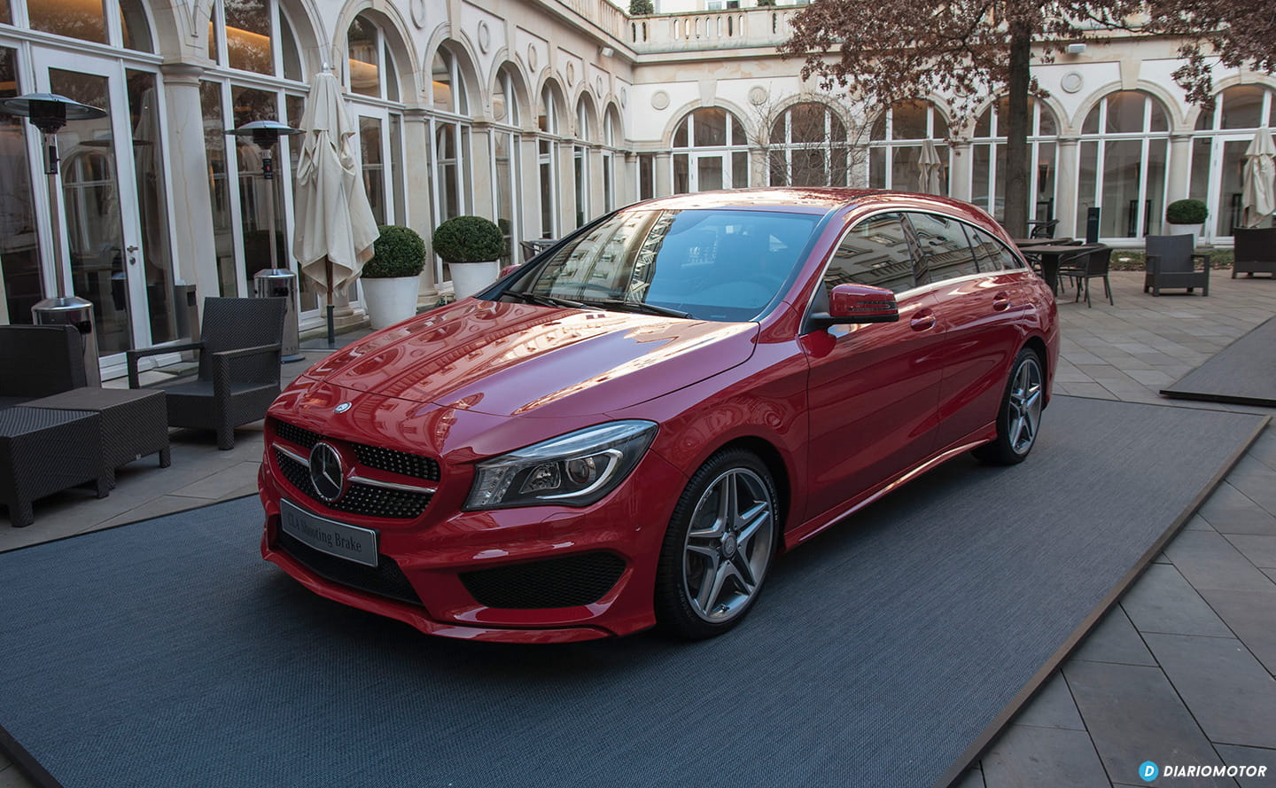 Mercedes CLA Shooting Brake, a prueba