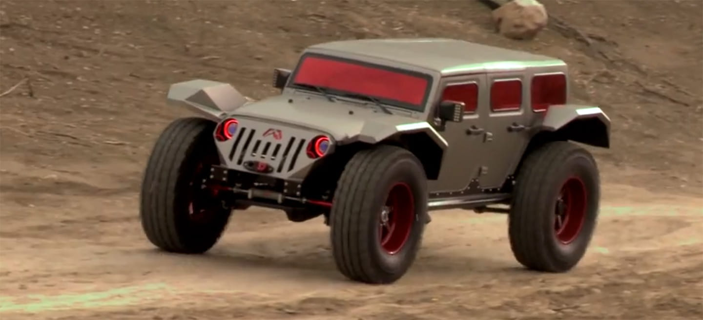 The Legend, un Jeep irreconocible para recibir con una sonrisa al holocausto zombie