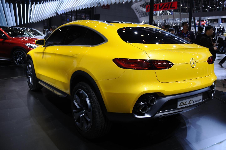 Mercedes glc coup en directo en el sal n de shanghai for Mercedes benz glc precio