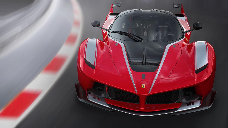 Ferrari FXX K, del boceto a la realidad