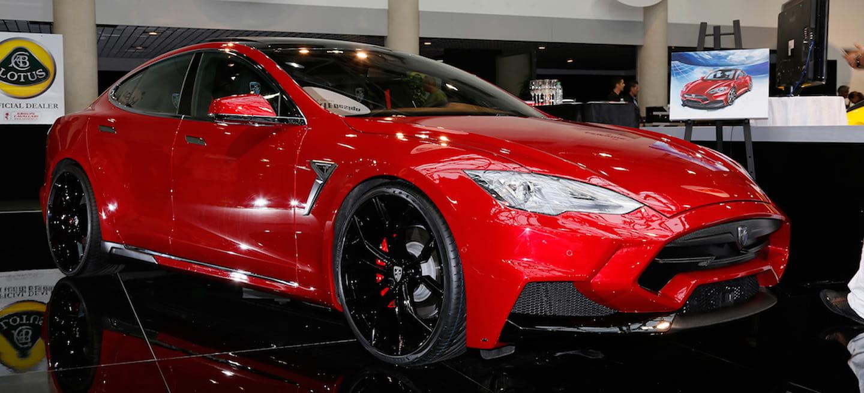 Nos convence: así es como suena, en vídeo, el falso rugido del Tesla Model S de Larte Design
