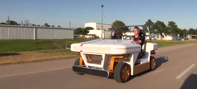 El nuevo buggy de la NASA promete drifting y diversión en otros planetas (vídeo)