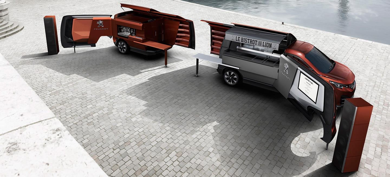 Peugeot Food Truck: un restaurante sobre ruedas improvisado, con sorpresa