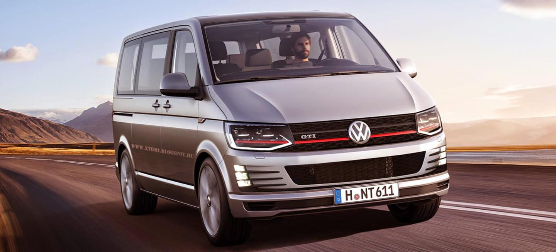estabas deseando verlo este es el aspecto de una volkswagen transporter t6 gti y r diariomotor. Black Bedroom Furniture Sets. Home Design Ideas
