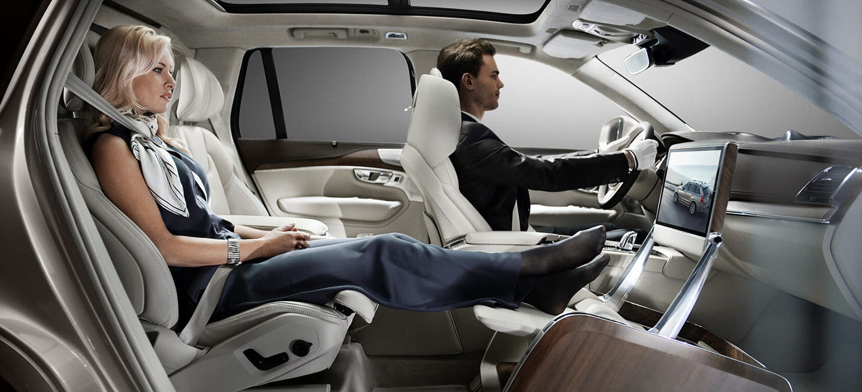 Volvo XC90 y Lounge Console: 10 imágenes que harán que te enamores de este 3 plazas de chófer