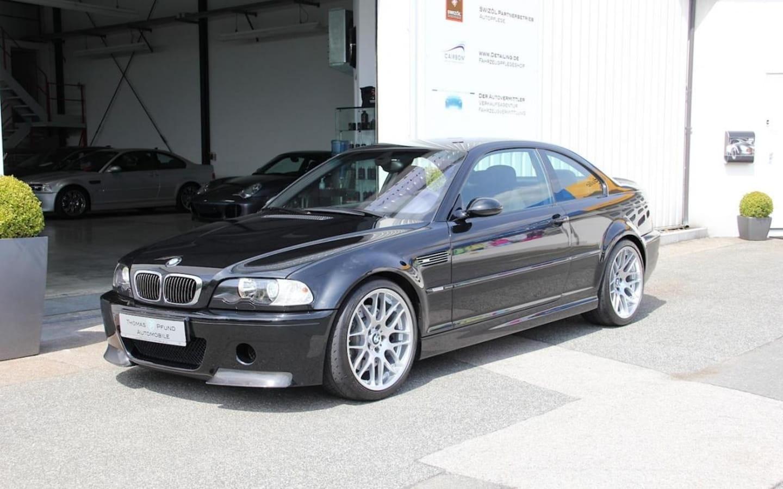¿Y tú, pagarías casi 110.000 € por un BMW M3 CSL de 2003?