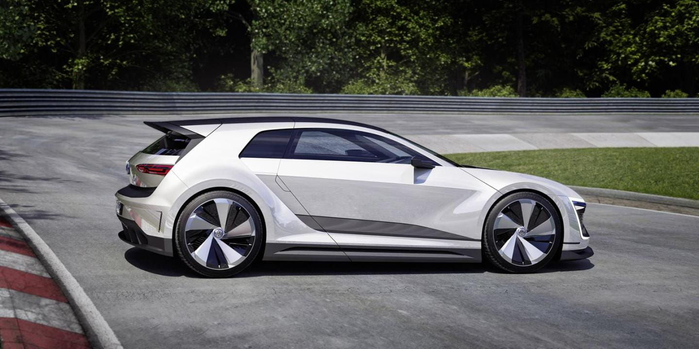 volkswagen golf gte sport concept el gti del futuro es. Black Bedroom Furniture Sets. Home Design Ideas