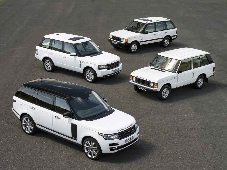 Generaciones Range Rover