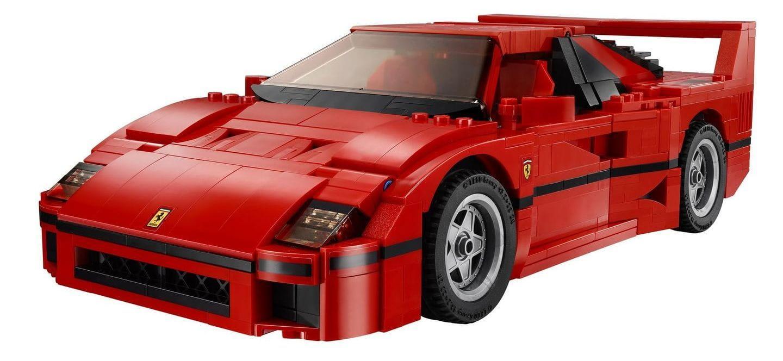 El kit de LEGO que siempre has querido ha llegado: un Ferrari F40 rojo