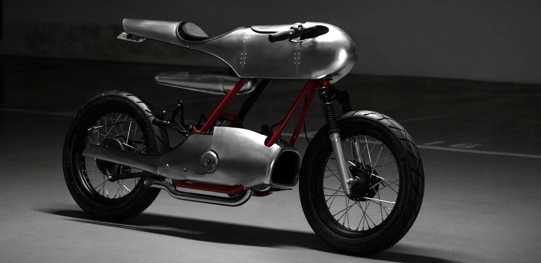 ¿Es un pájaro, es un torpedo? No, es la Honda Super Cub Roadrunner Concept