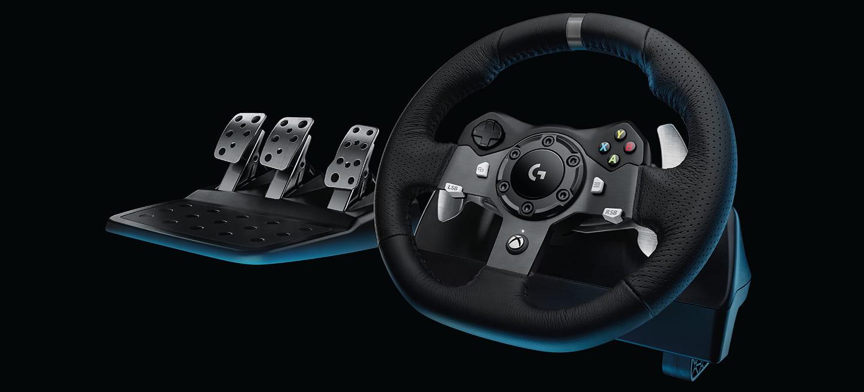 fans del g27 llegan los nuevos volantes logitech g29 y g920 driving force diariomotor. Black Bedroom Furniture Sets. Home Design Ideas