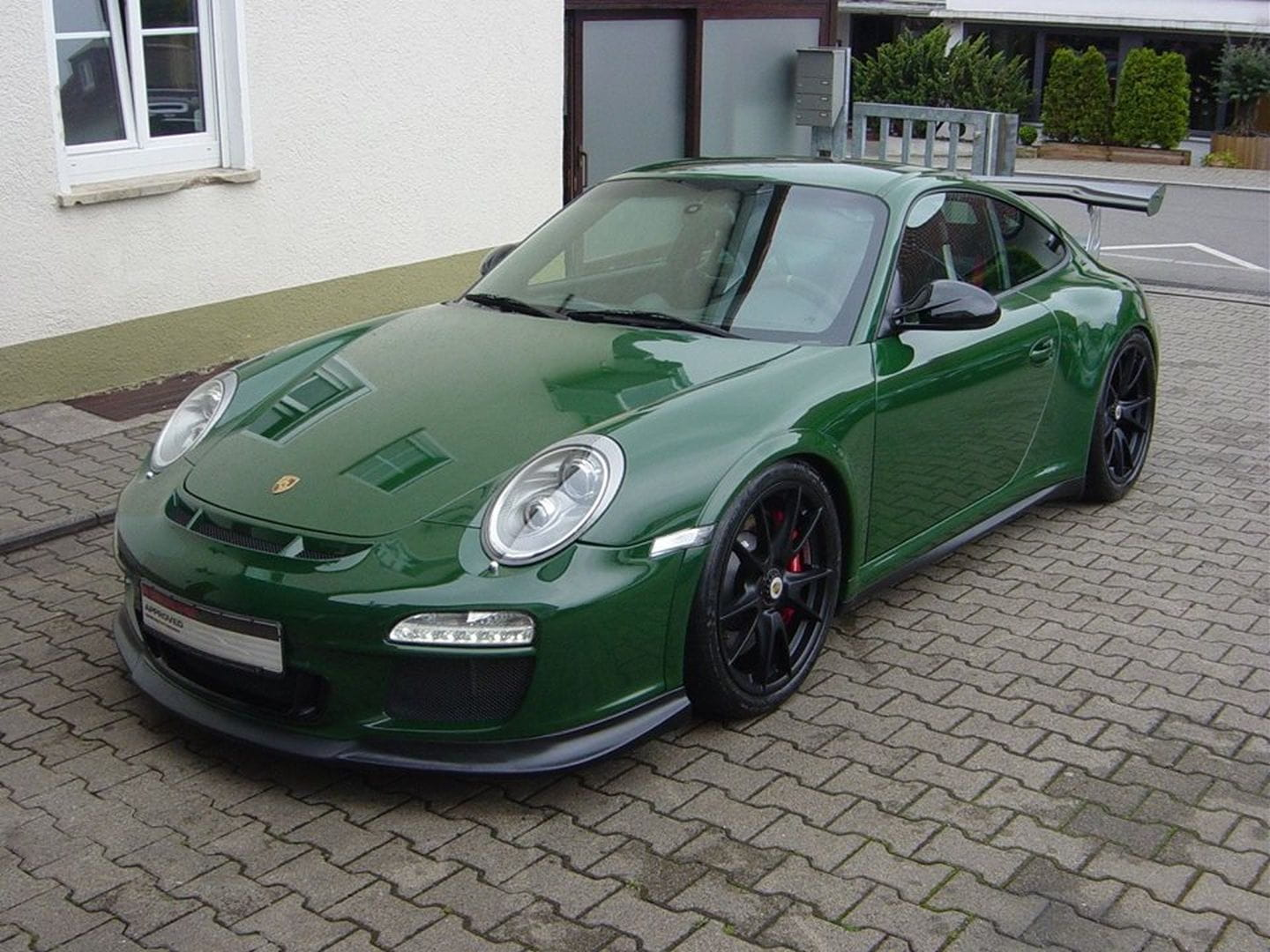 un porsche 911 gt3 de color british racing green diariomotor. Black Bedroom Furniture Sets. Home Design Ideas